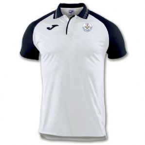 Tralee Tennis Club Joma Polo Torneo II White/Navy Adults 2019